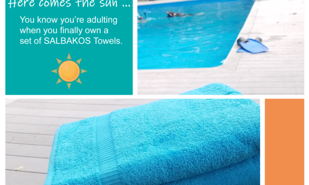 We Love Our Salbakos Luxury Bath Towels – This 4-Piece Turkish Cotton Set is Soft and Eco-Friendly!