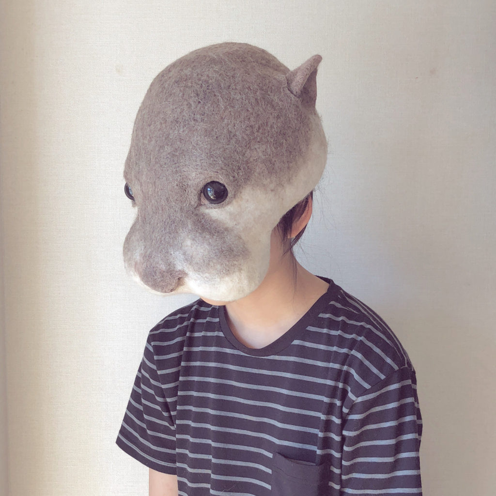 Incredible Felted Animal Masks By Nosonoso