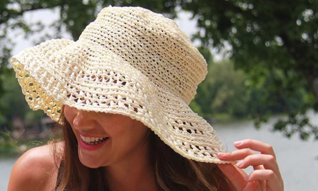 Crochet This Adorable Floppy Sun Hat … The Results Are 100% Instagrammable!
