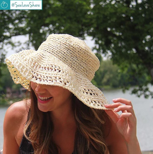 Crochet This Adorable Floppy Sun Hat … The Pattern is FREE and the Results Are 100% Instagrammable!