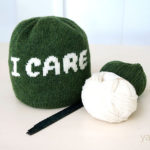 Knit an 'I CARE' Beanie, Designed By Nikki Smith-Morgan – FREE Pattern!