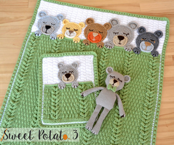 Designer Spotlight: The Best Colorful Crochet Patterns By SweetPotato3Patterns