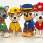 8 Paw Patrol Amigurumi Patterns For Crocheters!