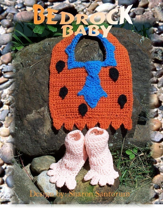 Five Fun Flintstones Patterns ... Knit, Crochet & Cross-Stitch!