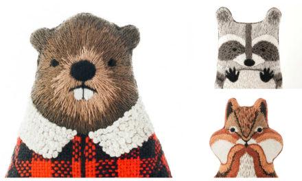 Designer Spotlight: The Best Embroidery Kits For Animal Lovers, Designed By Kiriki Press