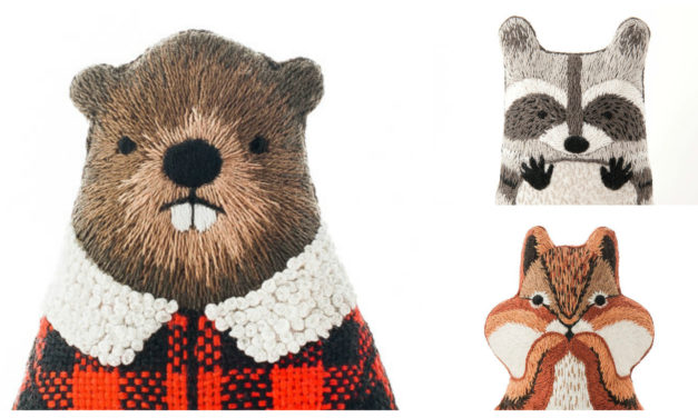 Designer Spotlight: The Best Embroidery Kits For Animal Lovers, Designed By Kiriki Press