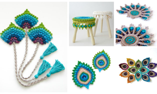 Pretty Peacock Patterns … 5 Perfectly Portable Projects For Crocheters