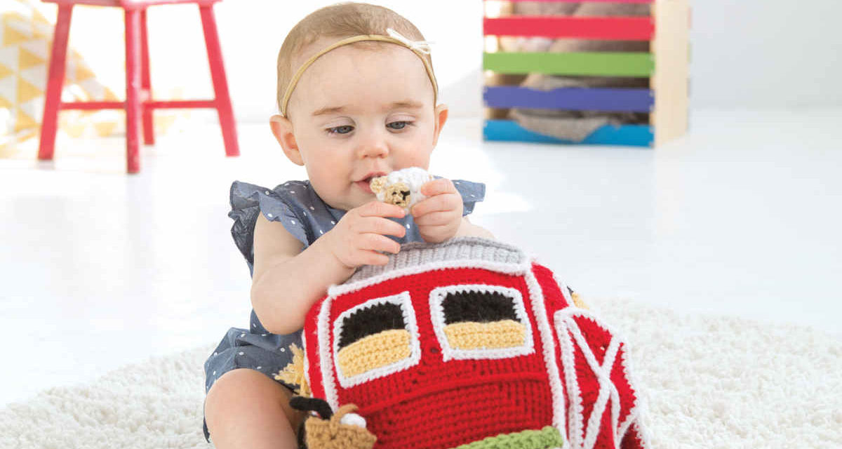 Two Recent Crochet Pattern Books From Leisure Arts: 'Busy Baby Boxes' and 'Infant Boots & Hats'