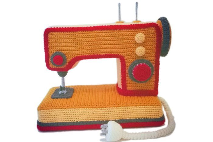 Trevor Smith's Retro Crochet ... He Crafted a Mixmaster and Much More ...
