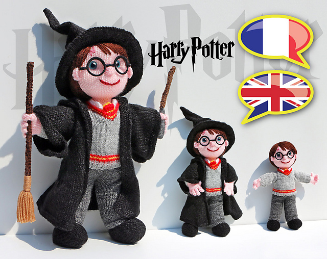 The Best Knitted Harry Potter Doll Pattern So Good It Almost Looks