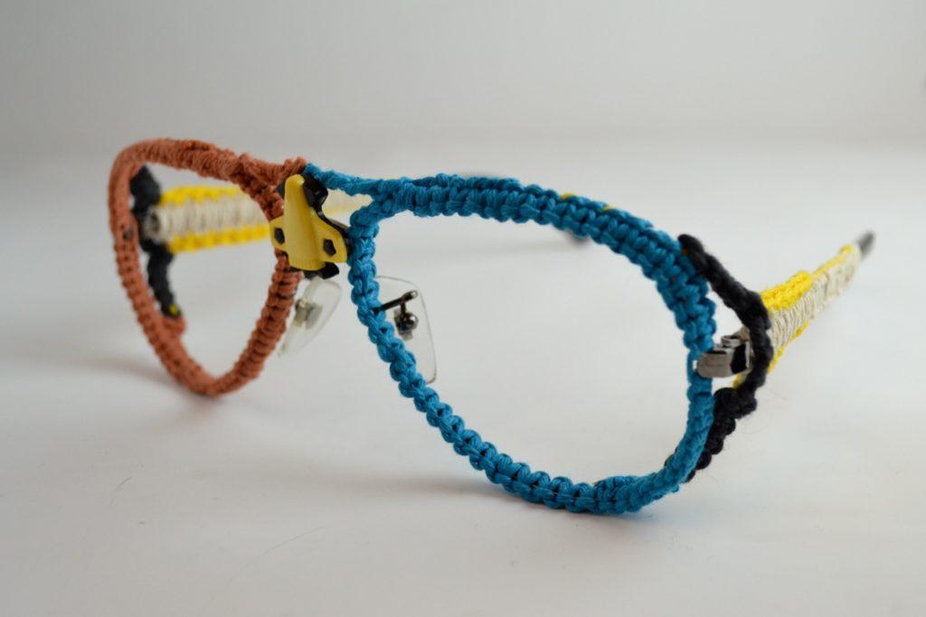 Take Your Golden Hipster Frames To The Next Level ... Crochet 'Em