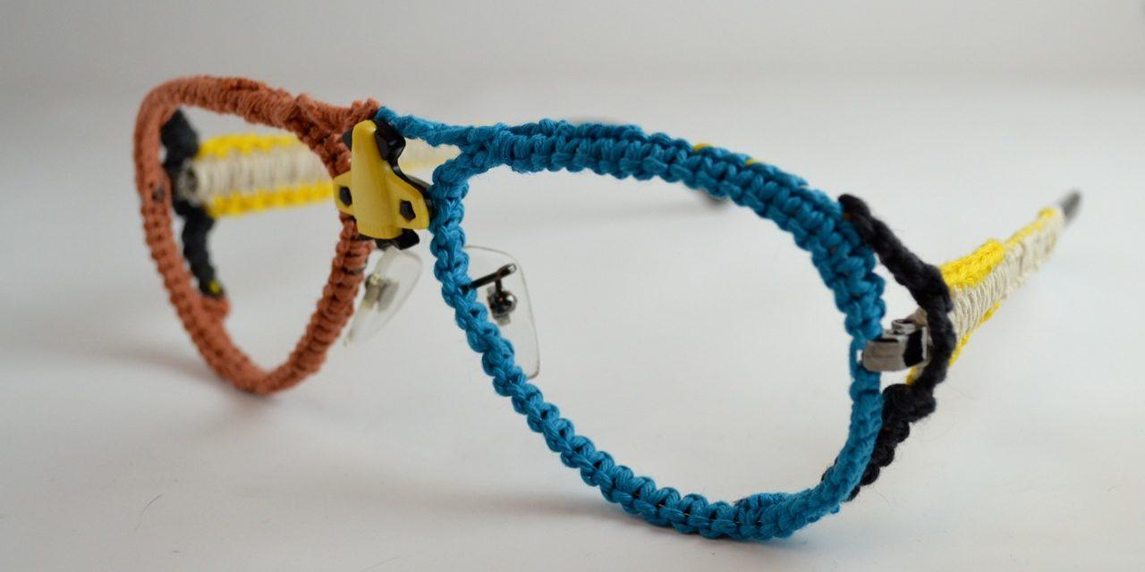 Take Your Golden Hipster Frames To The Next Level … Crochet 'Em