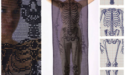 Life-Size Self-Portrait Skeleton Scarf by Fabienne Gassmann – Get the Crochet Chart