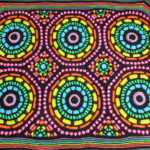 She Won First Place For This Stained-Glass Inspired Afghan, Get the Crochet Pattern!