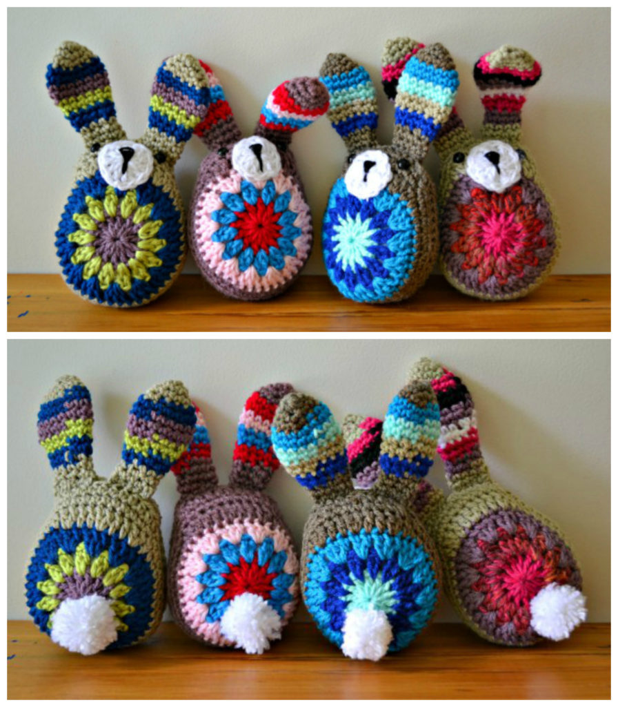 Crochet an Easy-Peasy Stashbuster Bunny - The Cutest Ever!