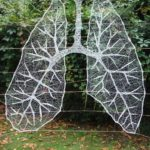 'Deep Breath' String Art Yarn Bomb By Anastassia Elias