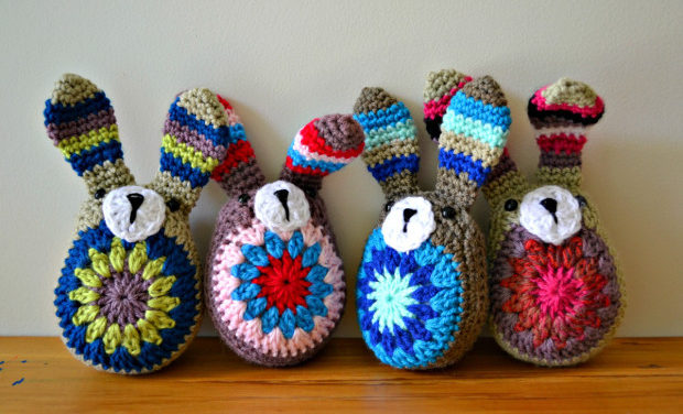 Crochet an Easy-Peasy Stashbuster Bunny – We've Reached Peak Cuteness!
