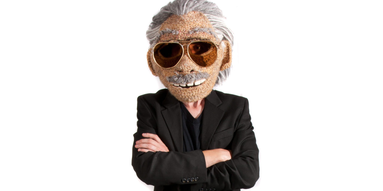 Life-Size Stan Lee Mask Crocheted By Huckleberry Elling