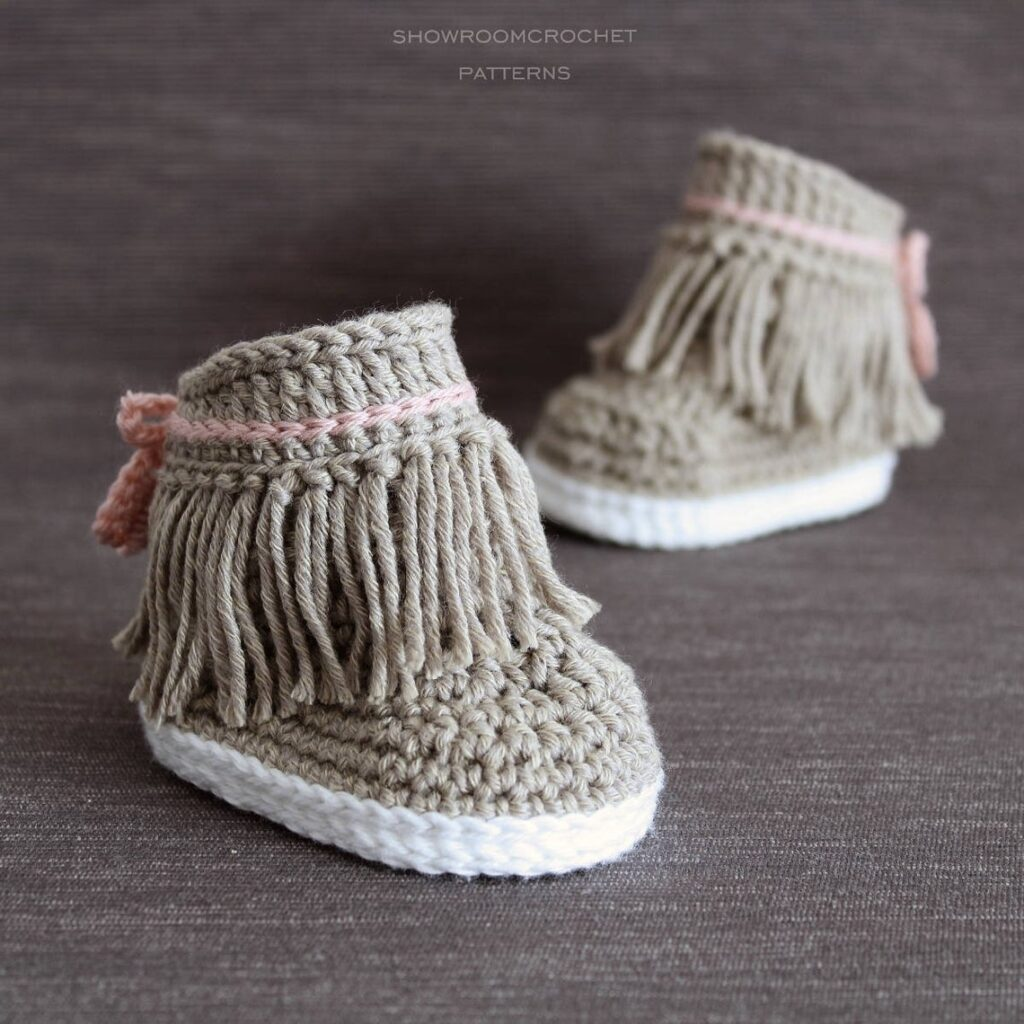 Designer Spotlight: Crochet Vans, Dakotas, Noas and Birkenstock-Inspired Patterns By ShowroomCrochet