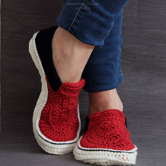 Crochet Docs, Vans, and Birkenstock-Inspired Patterns By ShowroomCrochet