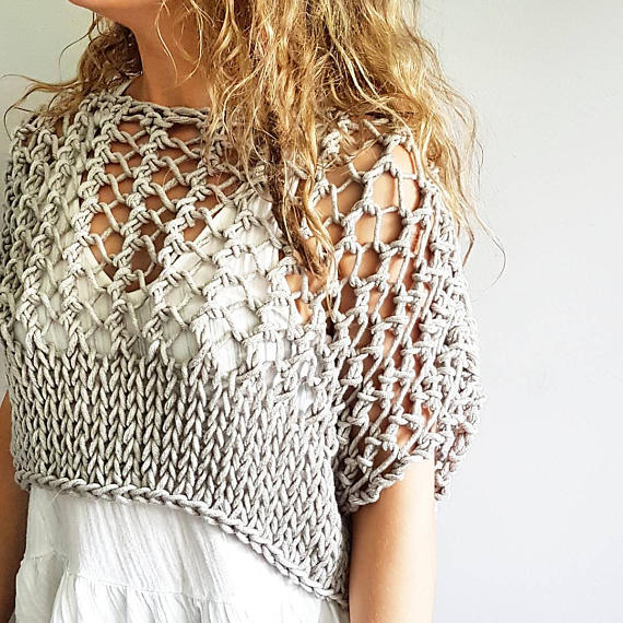 Knit a Knotty Crop Top For Summer – It's So Fresh!