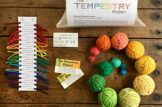 The Tempestry Project Visualizes Climate Change Through Knitting