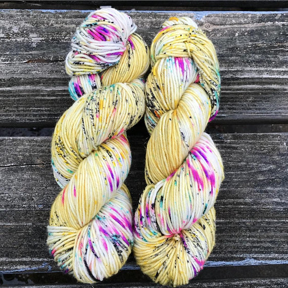 Gorgeous Hand-Dyed Yarns By Christina of Colour Redefined