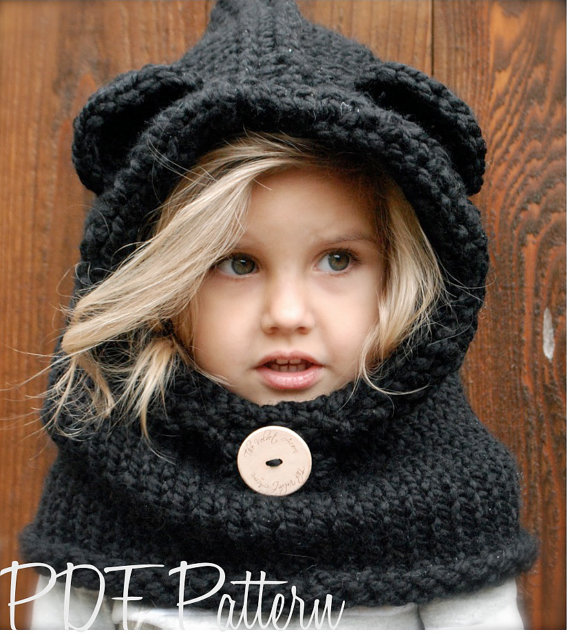 Designer Spotlight: Knitted Animal-Inspired Hoods, Hats and ...