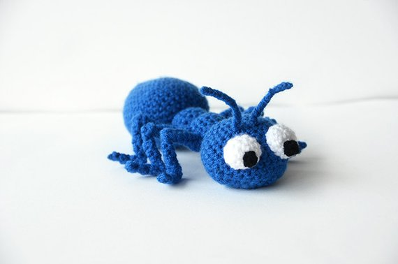 Of Course You Need To Crochet a Giant Amigurumi Ant!