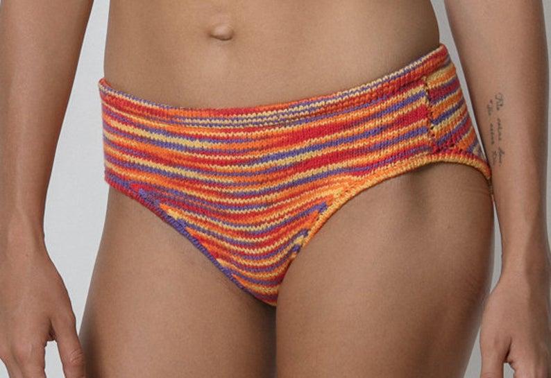 Knit a Cute Bikini Top & Bottom - Get the Pattern!