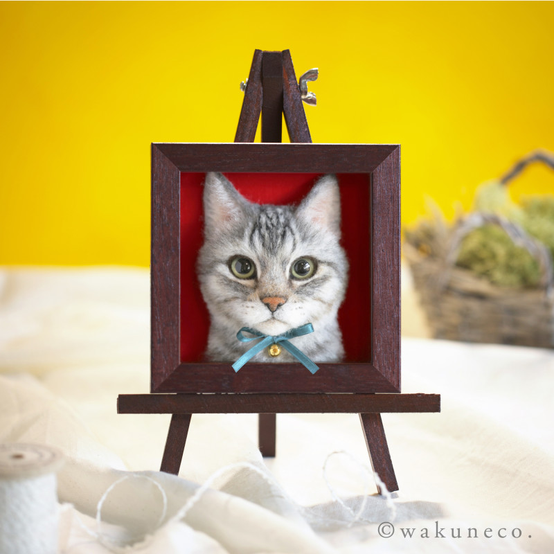 You've Never Seen 3D Needle-Felted Cat Portraits This Good - Wow!