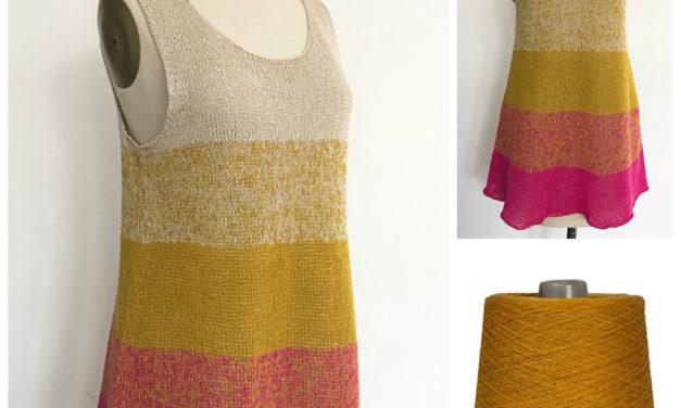 Free Pattern: Knit Ombre Tank Tunic Redux