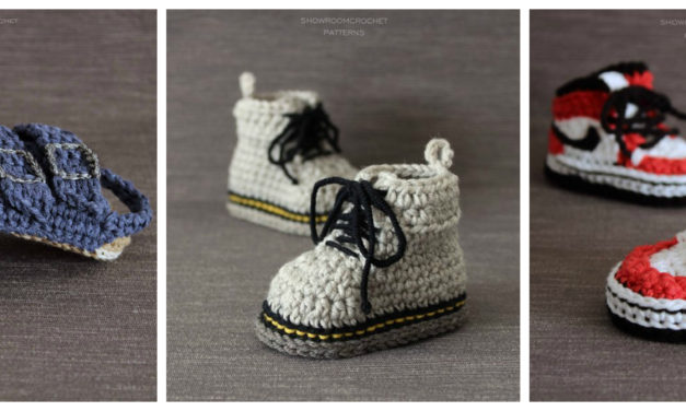 Designer Spotlight: Crochet Docs, Vans, and Birkenstock-Inspired Patterns By ShowroomCrochet