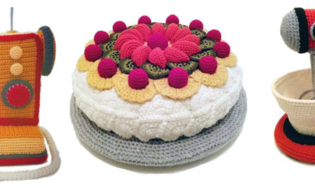 Trevor Smith's Retro Crochet … He Crafted a Mixmaster and Much More …