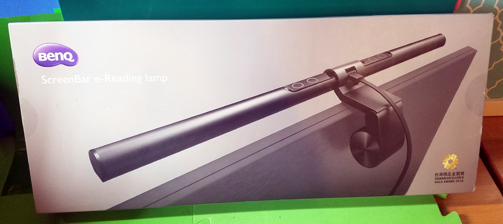 Work Long Hours In Front of a Computer? The BenQ ScreenBar Lamp Is For You!