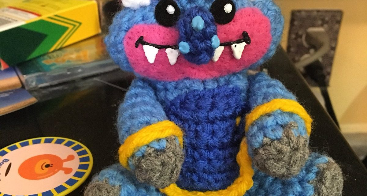 My Pet Monster Amigurumi Crocheted By Chelsey Scully aka The Stitchkeeper