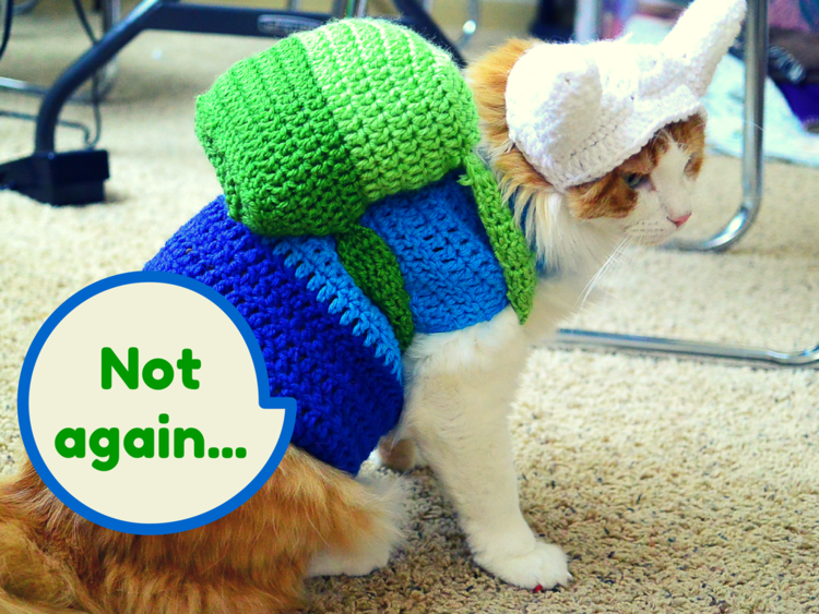 Check Out These Crochet Superhero Cosplays For Cats! Patterns & Tutorials Too!
