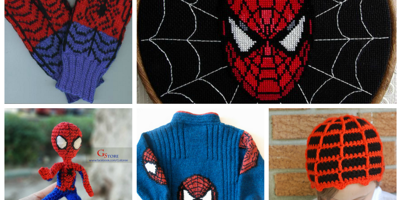 10 of the Best Knit & Crochet Projects, Patterns & Tutorials Inspired by Spiderman