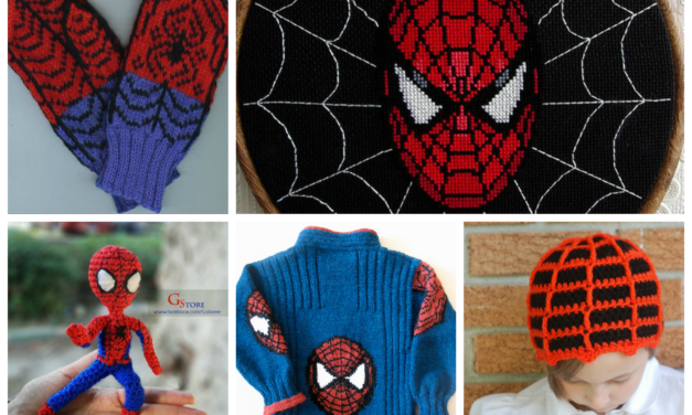 10 of the Best Knit & Crochet Projects, Patterns & Tutorials Inspired by Spider-Man