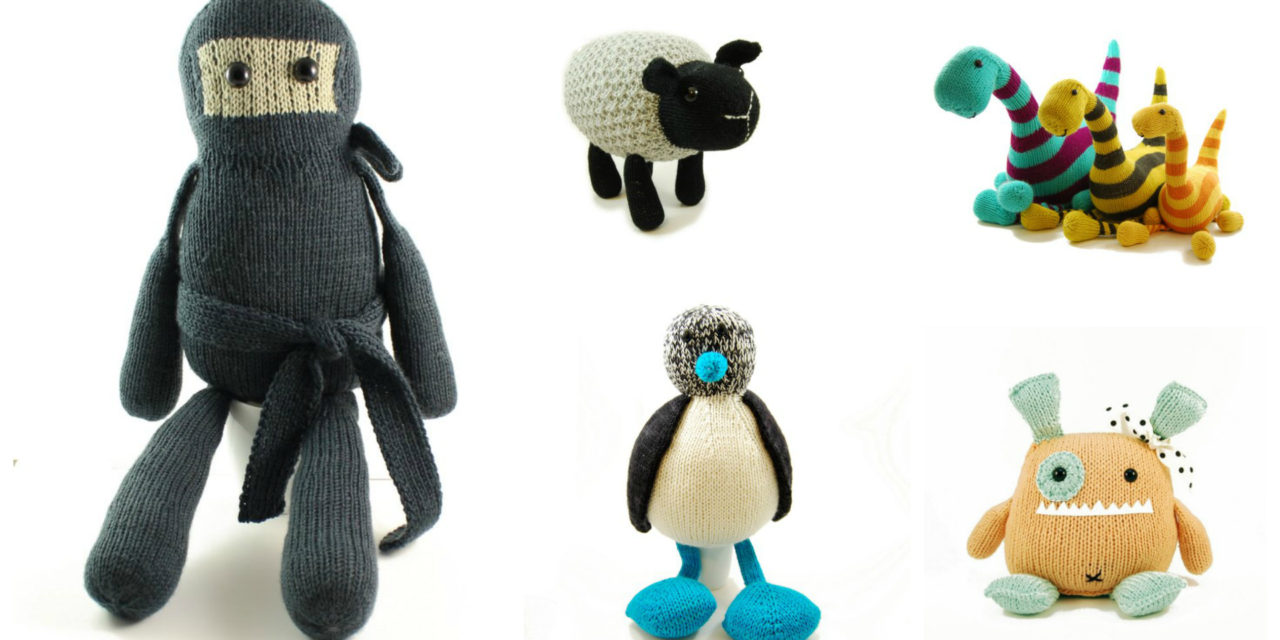Designer Spotlight: Whimsical Toy Knits Designed By Rebecca Danger of Danger Crafts