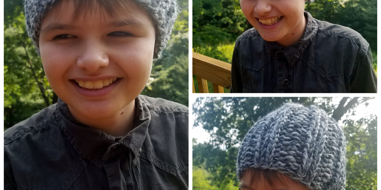 Knit This Easy Skull Cap Beanie For Kids In An Hour Or Less!