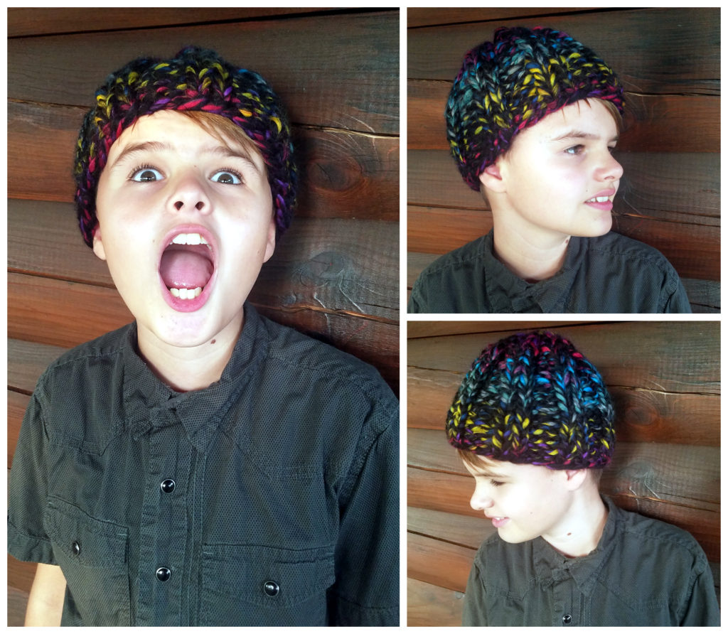 Knit This Easy Skull Cap Beanie For Kids In An Hour Or Less