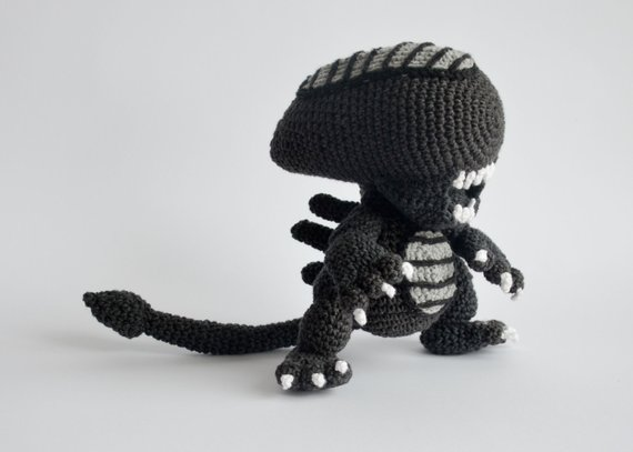 Krawka's Alien, get the pattern!