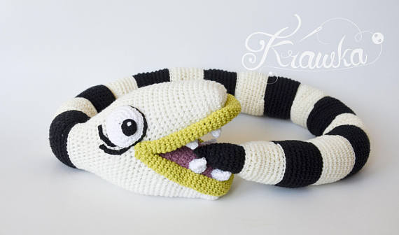 Crochet a Beetlejuice-Inspired Sandworm - His Name is 'Nightmare' ...