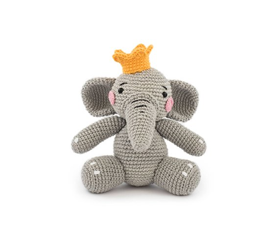 Get the elephant pattern from Kim Friis