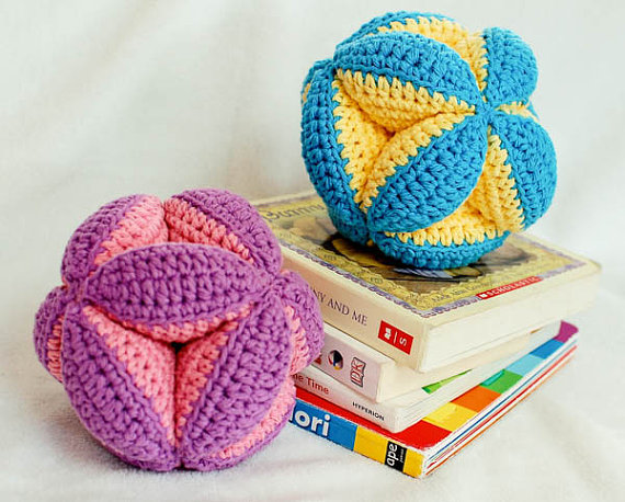 Looking For The Perfect Baby Gift To Crochet? Check Out This Cute Clutch Toy!