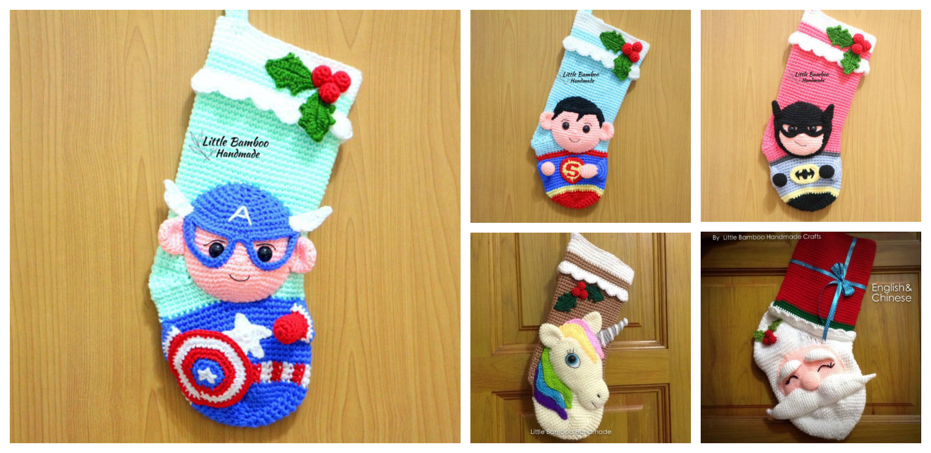 Get Ahead Of The Holiday Crunch With Crochet Superhero Stocking