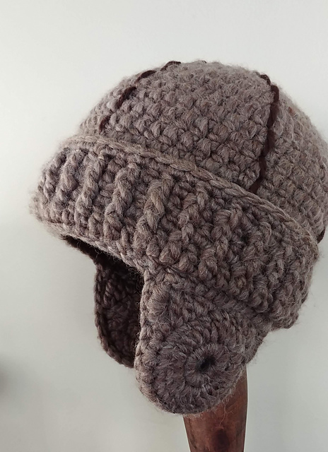 Crochet A Vintage Style Leatherhead Football Helmet Now This Is
