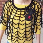 This Spider Web Poncho is the Smartest Thing Ever … Free Pattern Too!