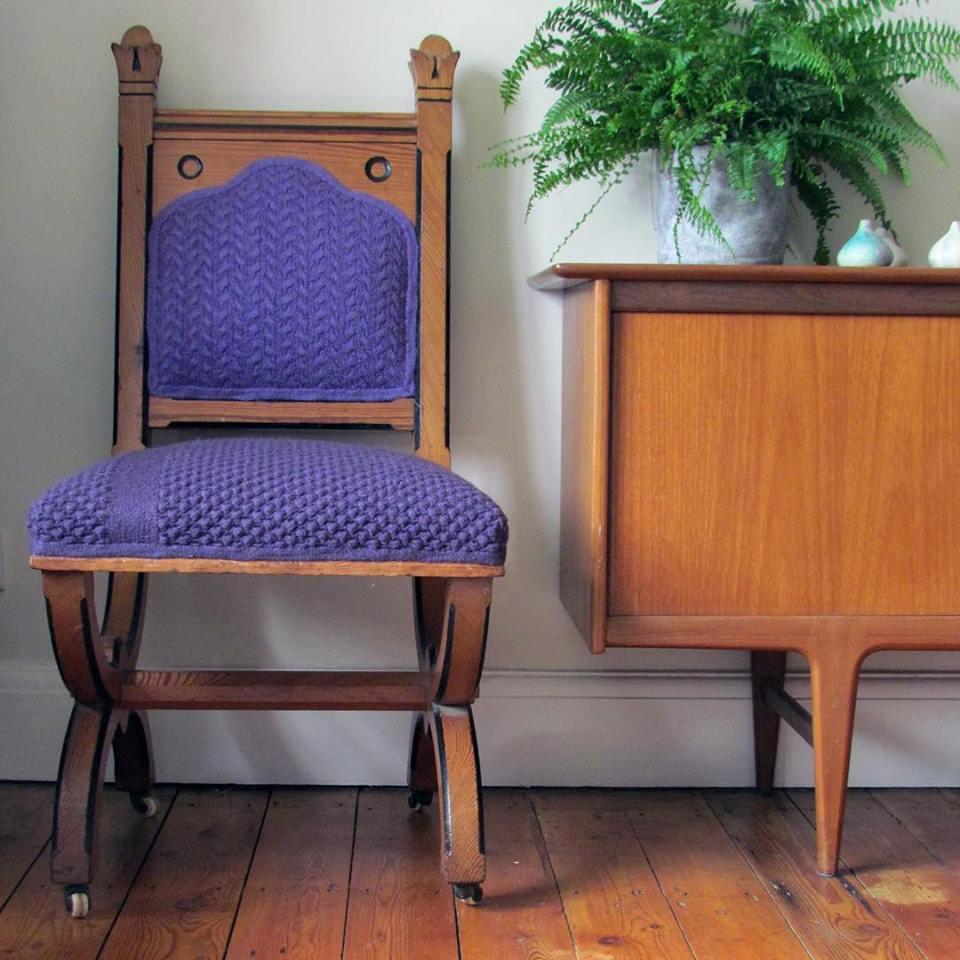 Life Is Too Short To Have a Boring Chair ... Melanie Porter's Work is Simply Divine!